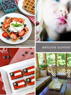 Welcome Summer! {Mingle Monday Features}