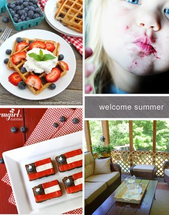 Welcome Summer Features from addapinch.com
