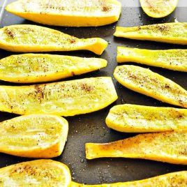 The simplest way to cook squash.