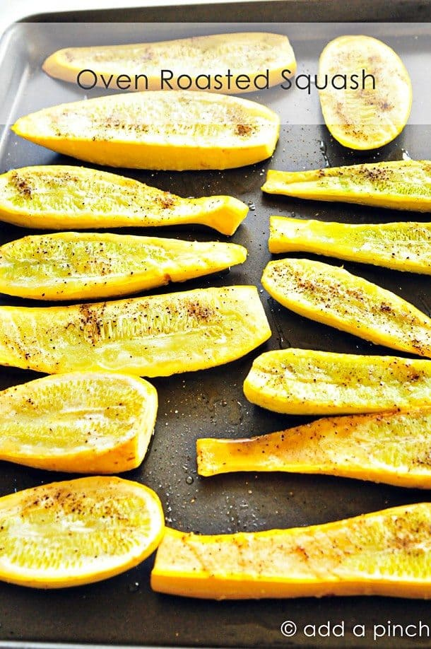 Oven Roasted Squash Recipe | Add a Pinch - Add a Pinch
