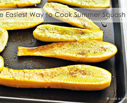 Oven Roasted Squash Recipe  Add a Pinch