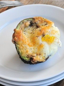 Baked Eggs in Avocado Cups Recipe