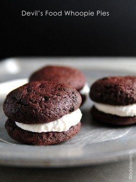 Devil's Food Whoopie Pies Recipe