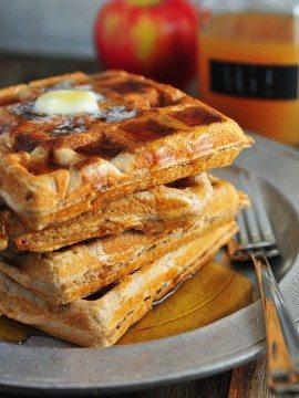 Apple Cider Waffle Recipe