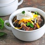 Black Bean and Steak Soup Recipe