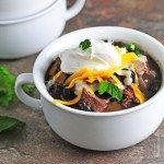 Black Bean and Steak Soup Recipe