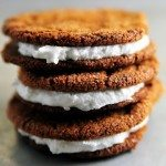 Ginger Molasses Creme Pies