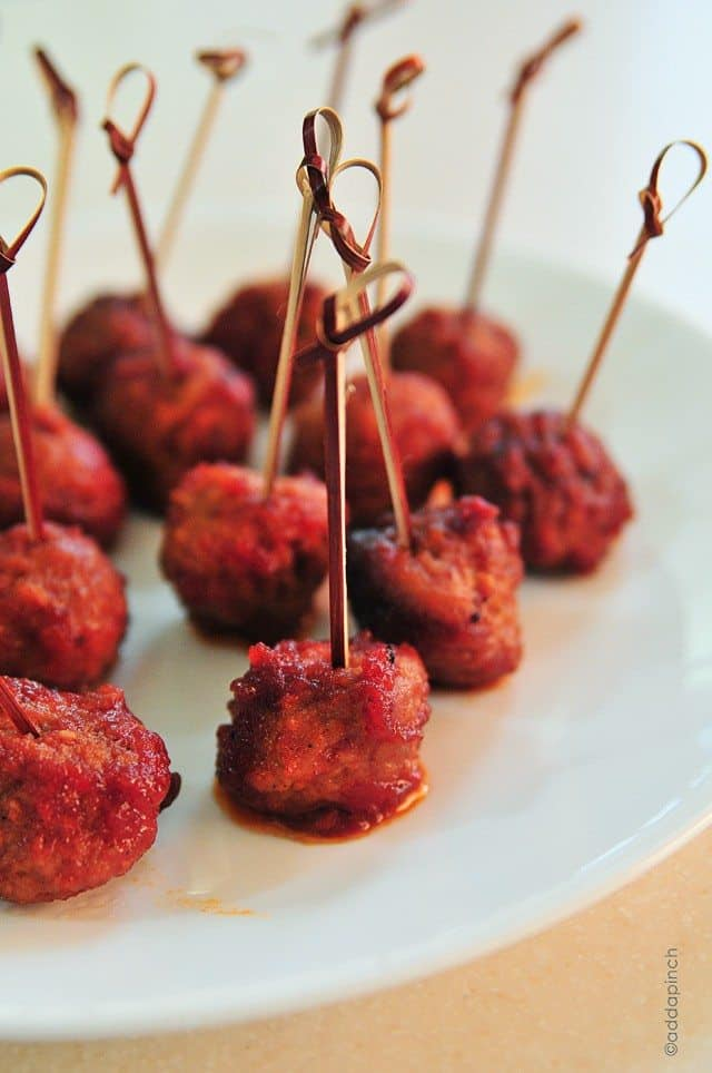 Slow Cooker Cocktail Meatballs Recipe - Cooking | Add a Pinch