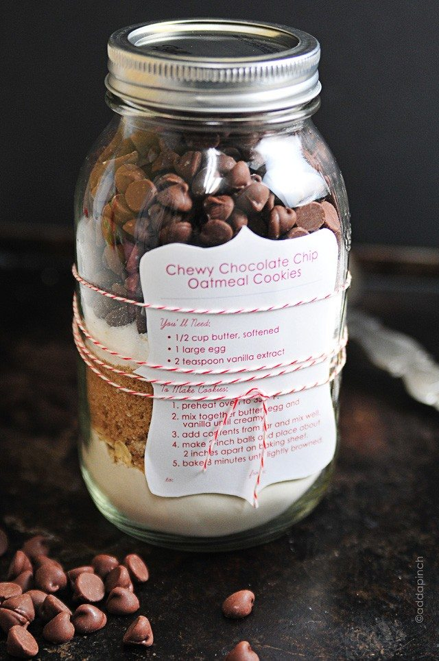 Chocolate Chip Cookie Mix Printable Cooking Add A Pinch