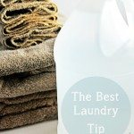 The Best Laundry Tip