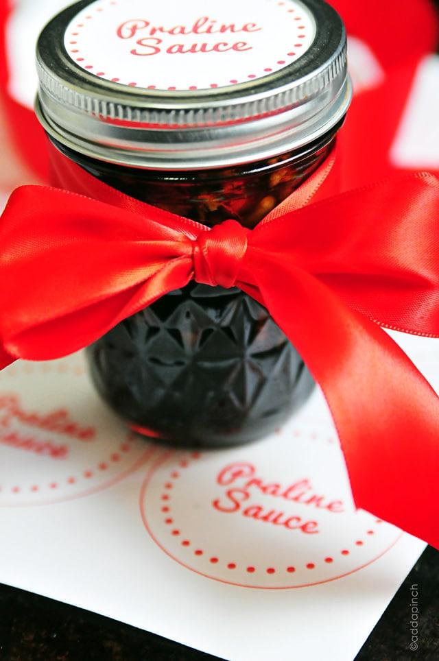 Praline Sauce Recipe + Printable
