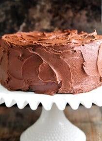 The Best Chocolate Cake Recipe {Ever}
