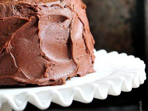 Awe Inspiring The Best Chocolate Cake Recipe Ever Add A Pinch Funny Birthday Cards Online Alyptdamsfinfo