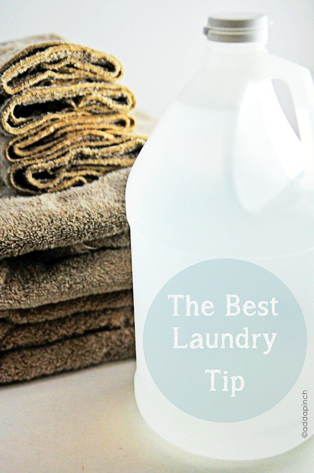 The Best Laundry Tip - Living | Add a Pinch | Robyn Stone