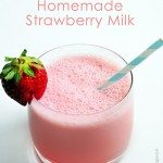 Homemade Strawberry Milk Recipe