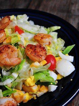 Blackened Shrimp Salad Recipe