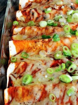 The BEST Chicken Enchiladas Recipe