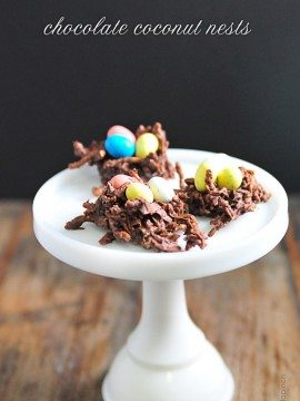 Chocolate Coconut Nests Recipe
