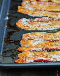 How to Cook Bacon Recipe // addapinch.com