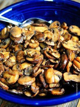 Mushroom Saute Recipe