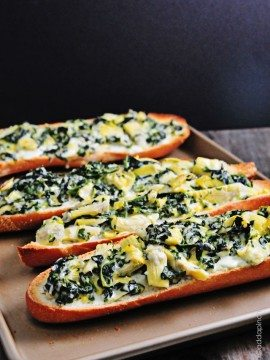 Spinach Artichoke Bread Recipe