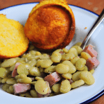 Lima Beans with Ham Recipe