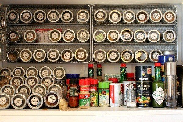 RecipeGirl Spice Cabinet