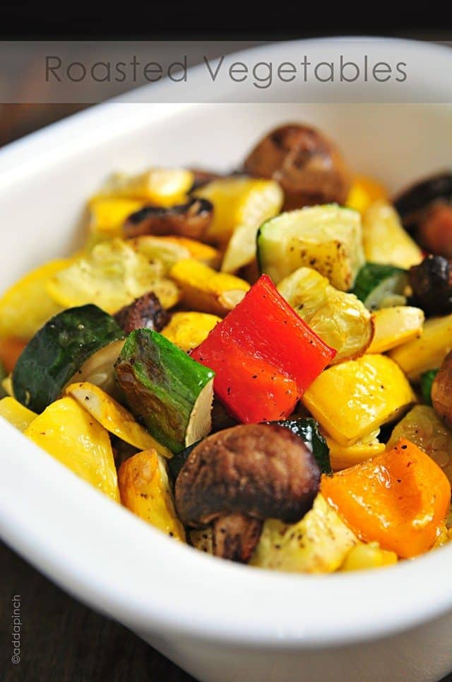 Roasted vegetable recipes - More information