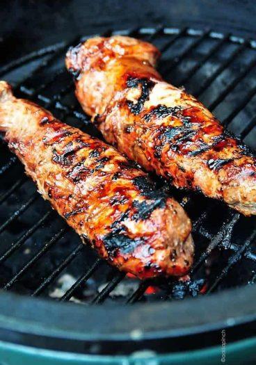 BBQ Pork Tenderloin   ©addapinch.com