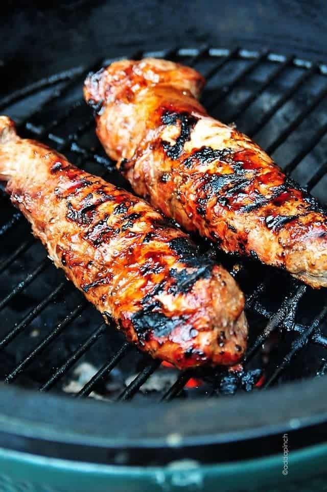 BBQ Pork Tenderloin | ©addapinch.com