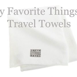 Travel Towels | ©addapinch.com
