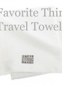 My Favorite Things :: Travel Towels