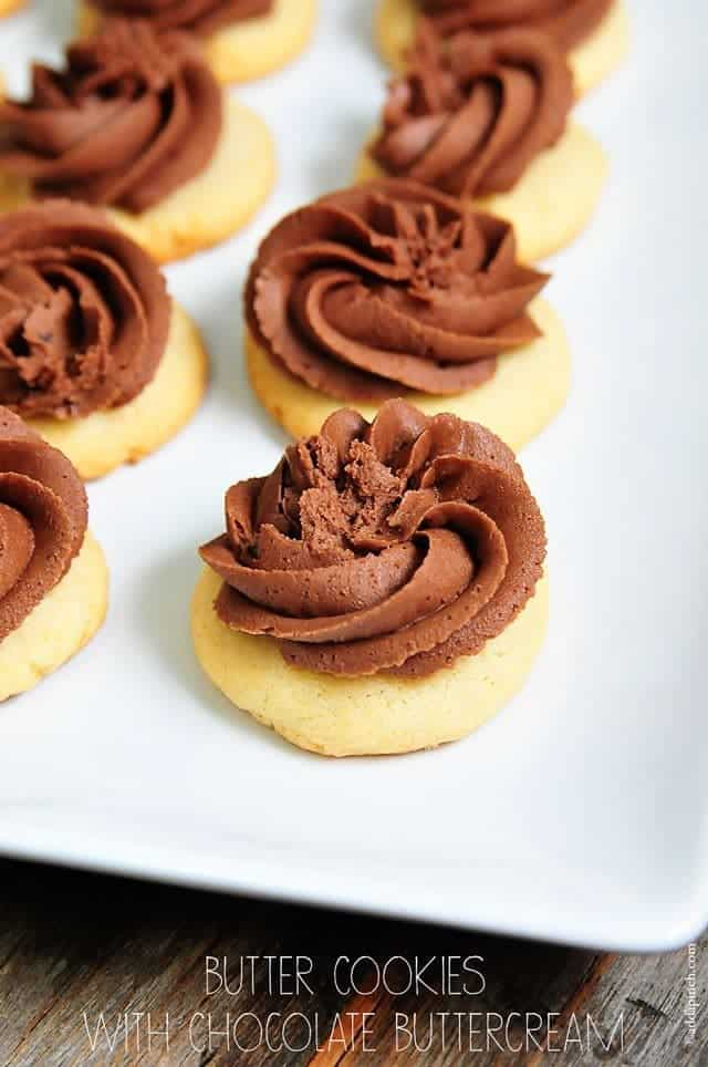 The Best Butter Cookies Recipe Add A Pinch