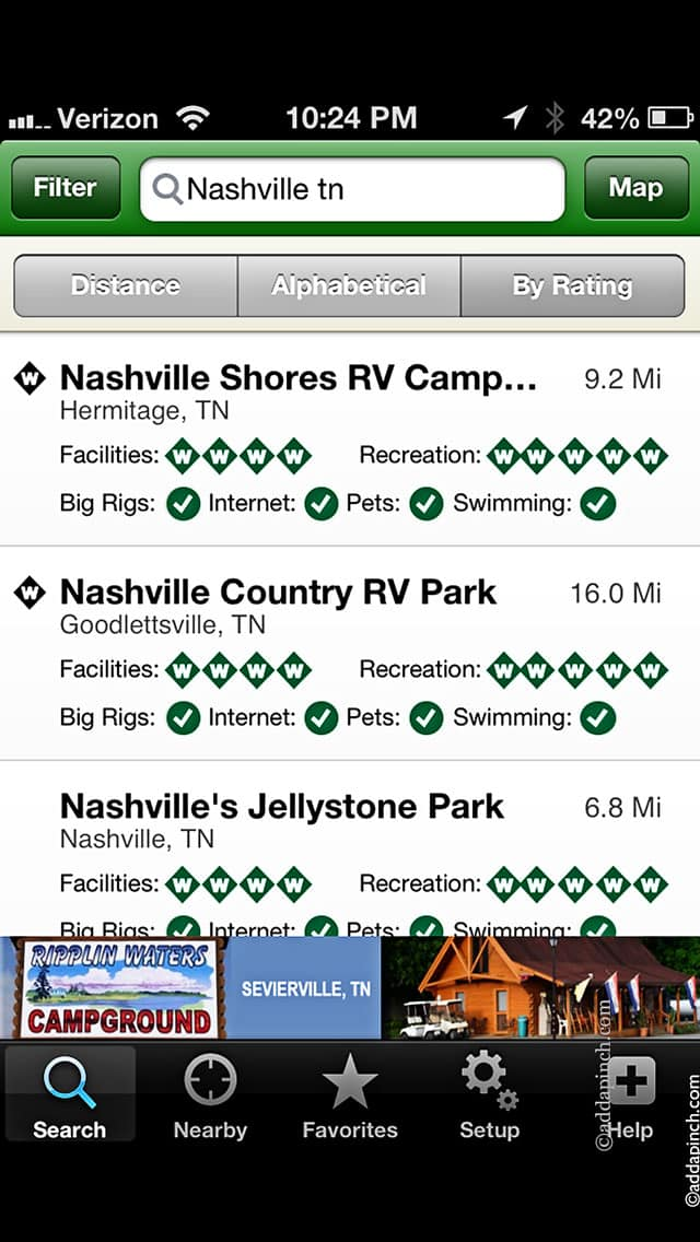 The Best Traveling Apps for RVing - Add a Pinch