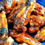 Peach BBQ Chicken Wings Recipe