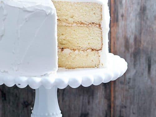 The Best White Cake Recipe Ever Add a Pinch