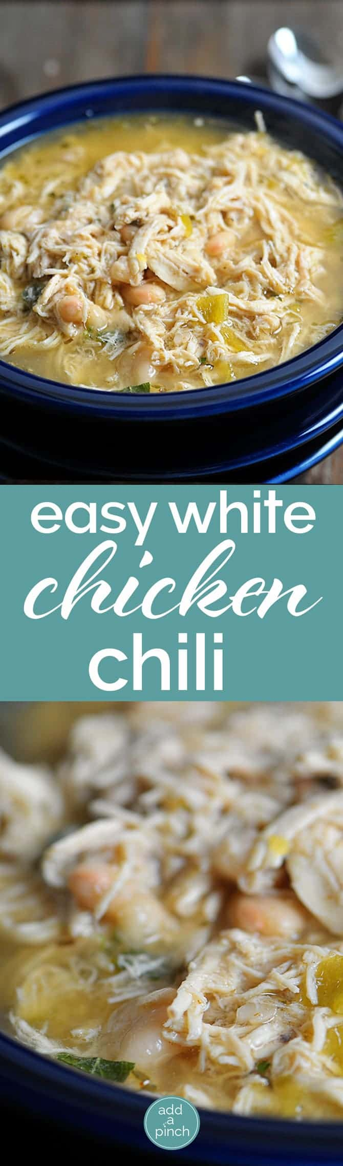 chili simple hearty white chili white bean chicken chili white chili ...