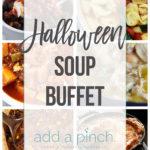Halloween Soup Buffet Menu Ideas