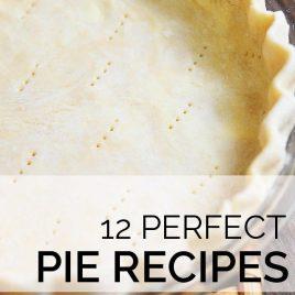 12 Perfect Pie Recipes | ©addapinch.com