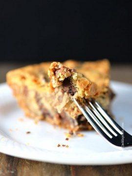 KK's Chocolate Chip Cookie Pie Recipe