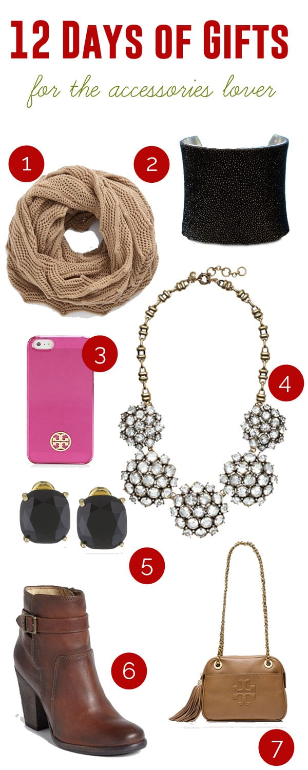 Gifts for the Accessories Lover | ©addapinch.com