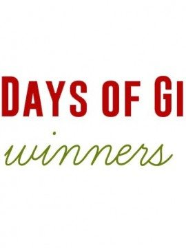 12 Days of Gifts :: Winners