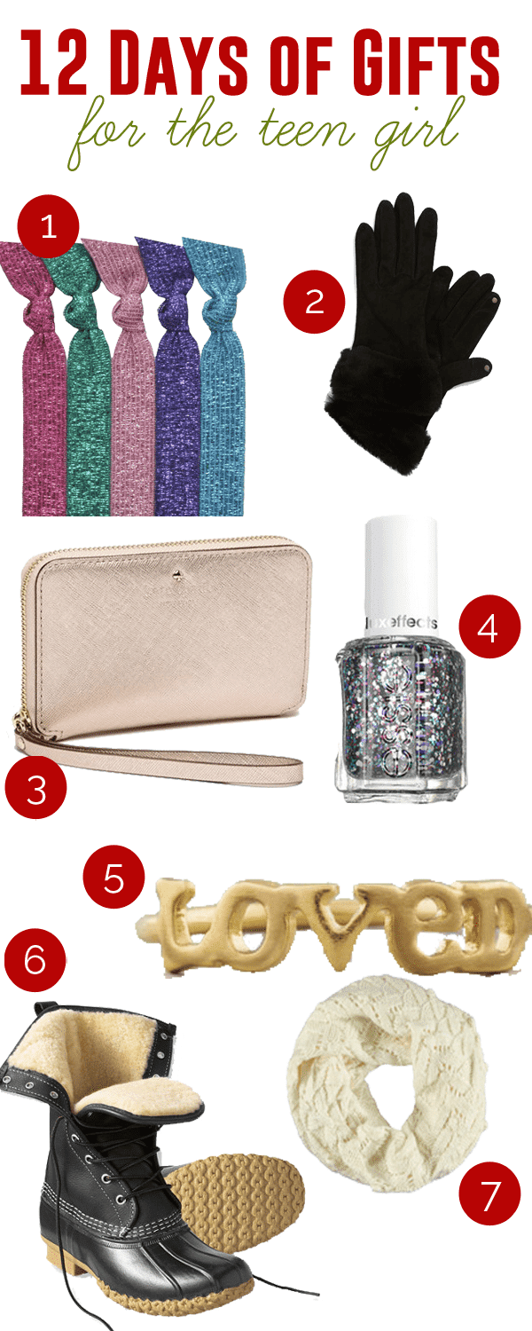 12 Days of Gifts :: for the teen girl - Add a Pinch