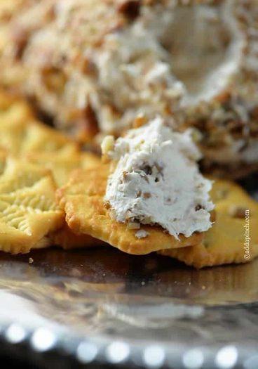 Chicken Cheeseball Recipe // addapinch.com