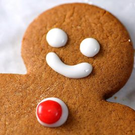 Gingerbread Cookies Recipe - Gingerbread cookies are a favorite Christmas cookie recipe and this gingerbread cookie recipe will become a favorite with a few special ingredients!// addapinch.com