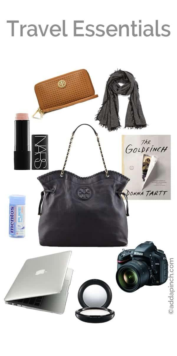 Travel Essentials | ©addapinch.com