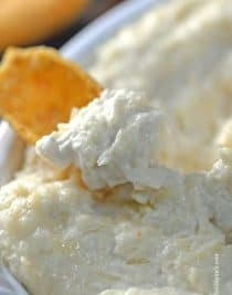 Crab Dip makes a favorite appetizer or snack to serve that we all just love. Filled with delicious crabmeat, this crab dip recipe is an absolute favorite around here. // addapinch.com