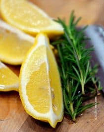 Lemon Rosemary Potpourri | ©addapinch.com