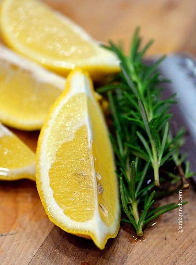 Lemon Rosemary Potpourri | ©addapinch.com