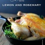 Roast Chicken with Lemon and Rosemary Recipe